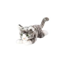 Peluche Galiléo, le Chat Gris  23 cm