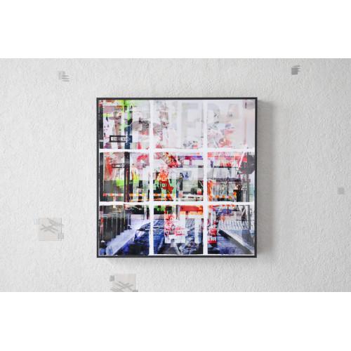 Tableau Street 30x30 cm
