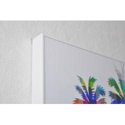 Tableau Palmier Multicolor 30x30cm
