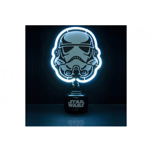 lampe Néon Stormtrooper sous licence Star Wars