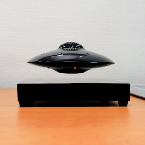 Base électromagnétique 200G slim induction & LEDS, UFOSOUND Noire