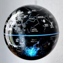 Base électromagnétique noire avec induction - Globe Constellations