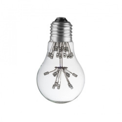 LAMPE DECO A60 E27 BLEU CHAUD ETEINTE