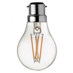 Ampoule A60 B22 Led filament droit