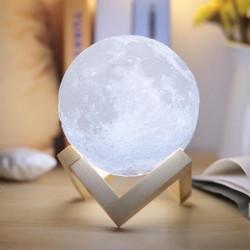 3D Pleine Lune Lampe mayround 15 cm 5.9 in environ 14.99 cm DEL Lunaire Lune Nuit Lumière Moderne Lampe